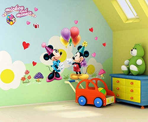 Oren Empower Famous Cartoon Large Wall Sticker For Kids (Finished Size On...