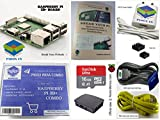 #7: Raspberry Pi 3B+/3B Plus Motherboard Combo - PiBOX India Variation (PiBOX - Essential Combo Black 3215BK)