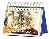 Tageskalender für Katzenliebhaber 2018: Tages-Aufstellkalender