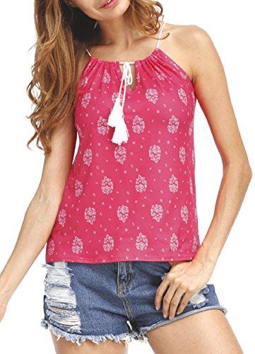 jusfitsu-women-floral-print-summer-brach-strap-v-neck-casual-tops-shirt-blouse-red-l