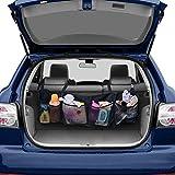MM456 Organizer per Bagagliaio, Multi Tasca per Sedile Posteriore dell'auto, Organizer per Sedile Posteriore, Borsa portaoggetti per Accessori per Auto