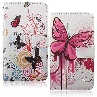 Flip Leder Wallet Karten Schutzhülle für Samsung Note 3N9000