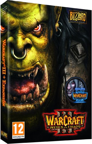 Blizzard Warcraft III Expansion Set: The Frozen Throne, PC - Juego (PC, Intel Pentium II, 400 MHz, PC, Windows 2000 Windows XP Windows Vista Mac OS X 10.3.9 , RTS (Estrategia en Tiempo Real), Blizzard Ent., 3/07/2002)