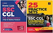 Master SSC Combined Graduate Level Tier 1 Guide with Solved Paper (Set of 2 Books)