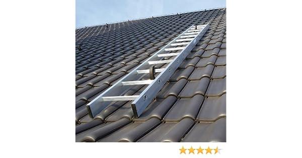 Super Kaminkehrerleiter Dachleiter Aluminium 18 Sprossen 5,04m: Amazon UO67