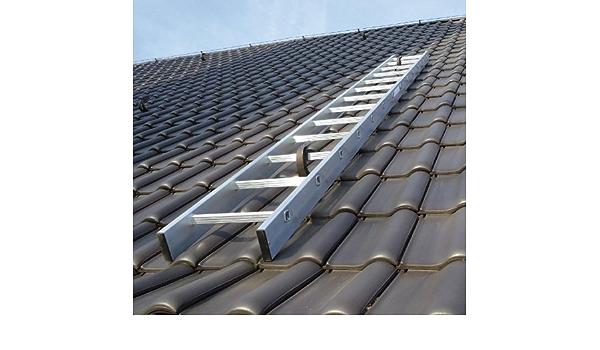Kaminkehrerleiter Dachleiter Aluminium 13 Sprossen 3,64 m