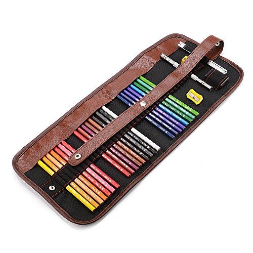 24-farbig Buntstift Set Premium Softcore Buntstifte Marco Zeichenstifte