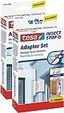 2 Stück tesa Insect Stop Adapter für ALU COMFORT Tür
