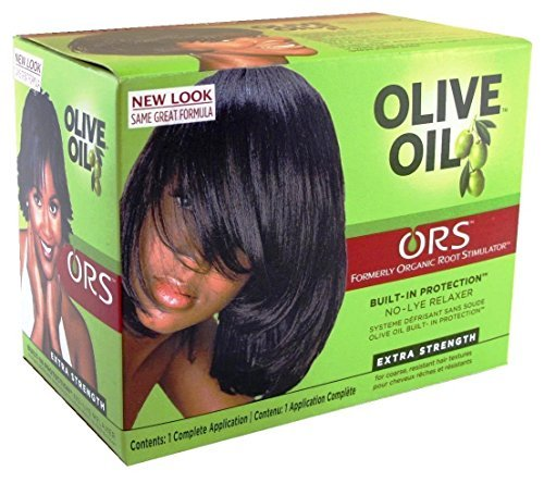 Relaxer / Glättungscreme Organic Root Stimulator Olive Oil Built-In Protection No-Lye Hair Relaxer System Extra Strength - Olive Oil Relaxer