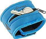 Jmarek JM-Blue Polsino portachiavi portamonete impermeabile in neoprene ideale per lo sport (corsa, nuoto, palestra, tennis, running, jogging) - www.jmarek.it - info@jmarek.it