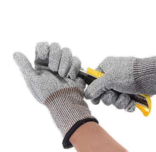 SUCAN Sicherheit Cut Proof Stab Resistant Edelstahl Metall Mesh Arbeit Butcher Handschuhe -