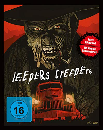 Jeepers Creepers (Mediabook, Blu-ray + 2 DVDs)