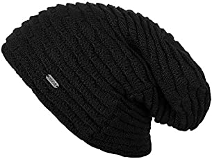 Noise NOICAPWNTR037 Polyester Jet Wave Knitted Beanie, Adult (Black)