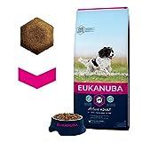 Eukanuba Puppy Medium Breed Trockenfutter (für Welpen mittlerer Hunderassen, Premiumnahrung mit Huhn), 15 kg Beutel - 4