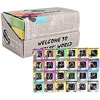 15000P 24Pack Rompecabezas Metal Puzzles 3D Juegos de Ingenio Calendario de Adviento para Niños y Adultos - Comparador de precios