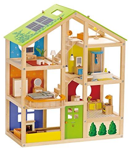 Hape E3401 - Vierjahreszeitenhaus, möbiliert - 4