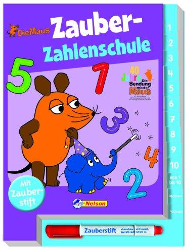 Preisvergleich Produktbild Die Maus, Zauber-Zahlenschule: mit Zauberstift