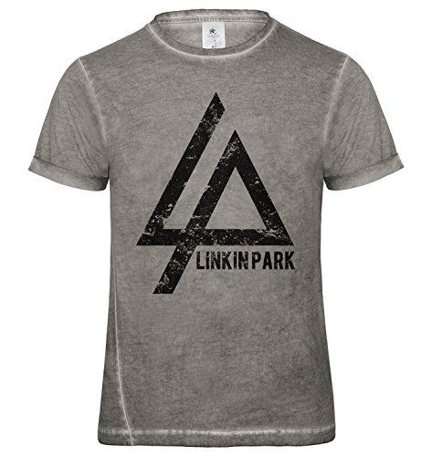 LaMAGLIERIA Camiseta Hombre Vintage Look Linkin Park Cod....