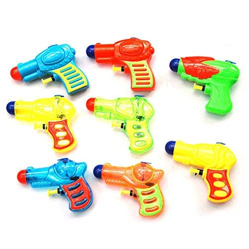 CHENWENEED Mini Pistola de Agua Pistola de Agua Gran Juguete Soaker Squirt Games Hot Summer Toy (como se Muestra)