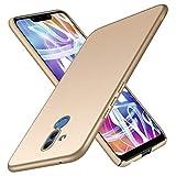 TopACE Hülle für Huawei Mate 20 Lite Ultradünne Leichte Matte Handyhülle für Mate 20 Lite Einfache Stoßfeste Kratzfeste Ganzkörper Hülle kompatibel mit Huawei Mate20 Lite (Gold)