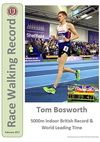 Race Walking Record 857 - February 2017 (English Edition) por Noel Carmody