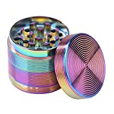 asiproper Mini Alloy Weed Herb Grinder Detectors Pipes Spice Mill Grinding Tobacco Crusher