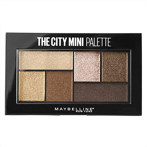 Maybelline New York The City Mini Lidschatten Palette 400 Rooftop Bronzes Gold