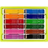 Jolly BIG BOX Kindergartenbox Supersticks Delta Buntstifte, 12 Farben, mehrfarbig (240er Pack)