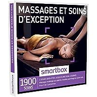 SMARTBOX - Coffret Cadeau - MASSAGES ET SOINS D'EXCEPTION - 1900 soins : massage, modelage, soin du visage