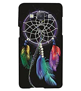 Samsung Galaxy E5 MULTICOLOR PRINTED BACK COVER FROM GADGET LOOKS