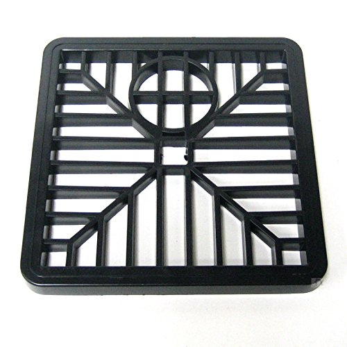 6-black-drain-cover-square-gulley-grid-plastic-drainage-grille-gully-15cm