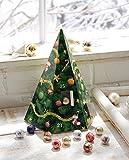 Adventskalender Pyramide Kalender mit LINDT Schokolade Advent