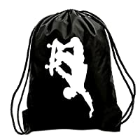 TEEZ - SKATER SKATEBOARDING GYM BAG, SWIMMING BAG, BAG,GYMSAC,DRAWSTRING BAG, WATER RESISTANT