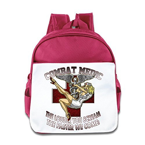 army-combat-medic-the-louder-you-scream-kids-school-backpack-bag-by-meisxue