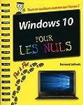 Windows 10 Pas � Pas Pour les Nuls
