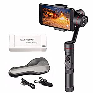 Zhiyun Smooth III Smooth3 Ensemble de caméra Gimbal à 3 Axes pour Smartphones comme iPhone 7, 6 Plus, 6, 5S, 5C, Samsung S6, S5, S4, S3, Note 4, 3, ECT w/EACHSHOT Tissu de Nettoyage (Updated Lmooth-