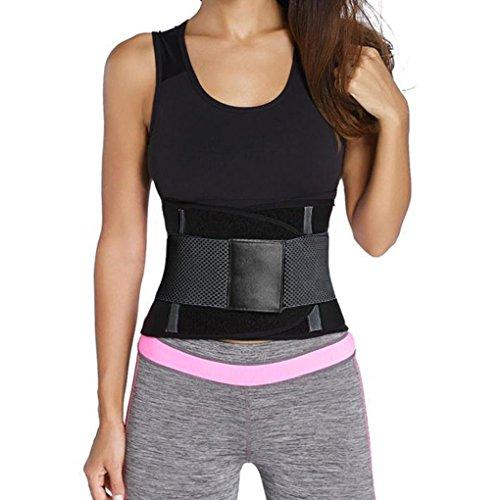 Coddington Frauen Taille Trainer Body Shaper Slimmerbelt Hüftgürtel Bauch Workout Waistband (Schwangerschaft Bauch Workout Post)