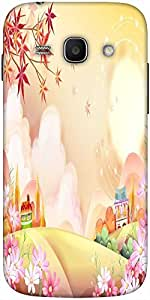 Snoogg Colorful Town 2609 Designer Protective Back Case Cover For Samsung Gal...