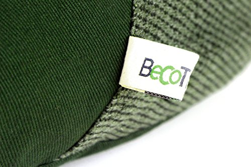 Beco-Bed-Hemp-and-Cotton-Hypoallergenic-Washable-Eco-Mattress-Pet-Bed-M-Green