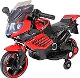 Ultimar Véhicule électrique pour Enfants Moto électrique (Rouge)