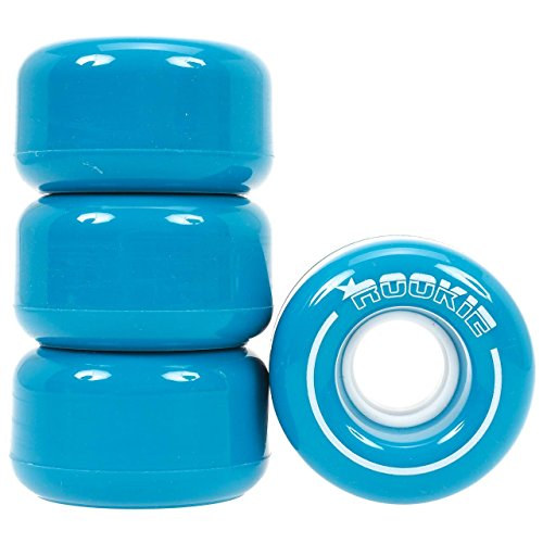 Rookie Quad Wheels Wheels All Star (4 Pack), Unisex Erwachsene, Unisex – Erwachsene, RKE-RSW-0101, blau, 32mm