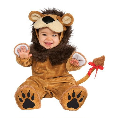 Rubie's it881522-12/18 - costume per bambini lion superbaby, xs