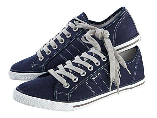 Livergy Herren Canvas-Sneaker Schuhe Dunkelblau (44) (Schuhe Canvas Großhandel)