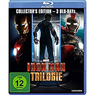 Iron Man Trilogie-Collector's Edition (Blu-Ray)- (Audio:Allemand)