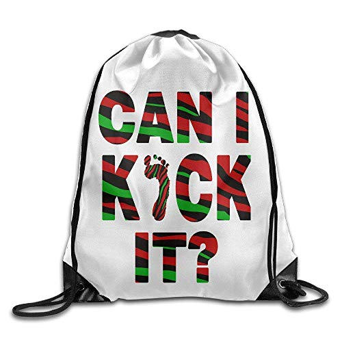 htrewtregregre Tribe Called Quest Can I Kick It Drawstring Backpacks/Kordelzug Pakets - Kick Falten