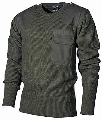 Bundeswehr Pullover mit Brusttasche von MFH bei Outdoor Shop