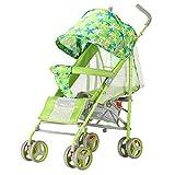 YKQ Kinderwagen für Kleinkinder Leichtes faltbares Baby, Das 0-3 Einjahresmädchen Sitzt und Liegt