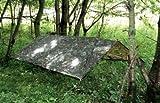 HHH Hunting Basha Grande bâche de camouflage militaire pour chasse pêche ou camping 2,5m