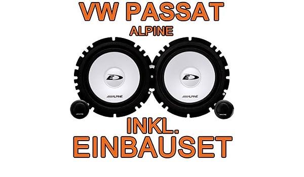 2005-2010 SINUSTEC Heck Lautsprecher-Set Kompo für VW Passat B6 3C