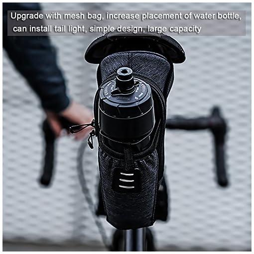 Roswheel Borsa della Sella per Bicicletta Impermeabile Sacchetto Posteriore